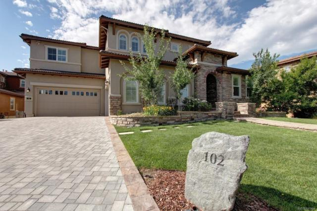 102 Morningdew Place, Highlands Ranch, CO 80126 (#7764973) :: The Peak Properties Group