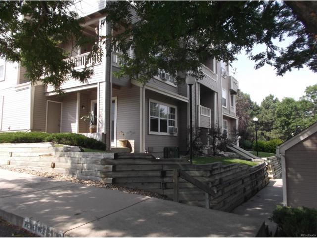5706 W Asbury Place #101, Lakewood, CO 80227 (MLS #7773059) :: 8z Real Estate