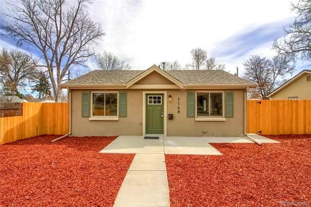 1168 Verbena Street, Denver, CO 80220 (MLS #7774684) :: 8z Real Estate