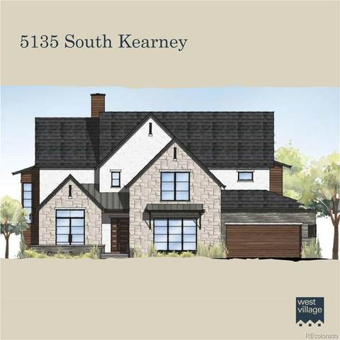 5135 S Kearney Court, Greenwood Village, CO 80111 (#7775307) :: The Griffith Home Team