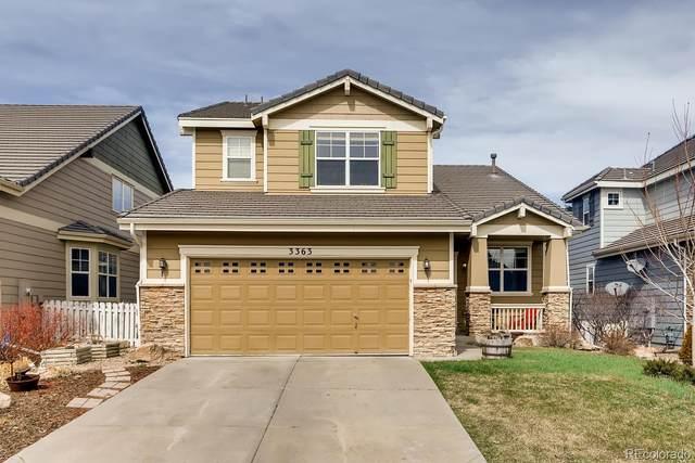 3363 Prairie Vista Drive, Castle Rock, CO 80109 (#7775827) :: The HomeSmiths Team - Keller Williams