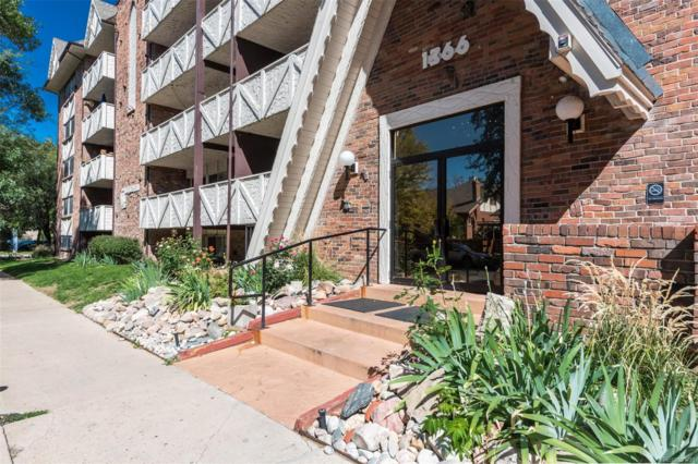 1366 Garfield Street #509, Denver, CO 80206 (#7776203) :: Colorado Home Finder Realty