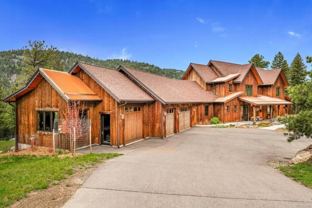 6056 Stone Creek Drive, Evergreen, CO 80439 (MLS #7777310) :: 8z Real Estate