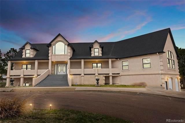 12630 Mount Shasta Drive, Elbert, CO 80106 (#7778690) :: Sultan Newman Group