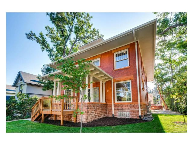 1344 Gaylord Street #100, Denver, CO 80206 (MLS #7780088) :: 8z Real Estate