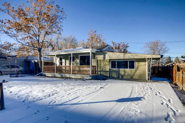 3167 W Walsh Place, Denver, CO 80219 (#7780226) :: The HomeSmiths Team - Keller Williams