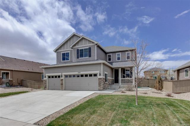 493 Sudbury Street, Castle Rock, CO 80104 (#7780562) :: The HomeSmiths Team - Keller Williams