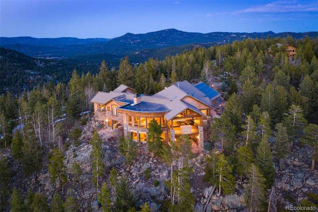 32024 Snowshoe Road, Evergreen, CO 80439 (#7782557) :: Portenga Properties