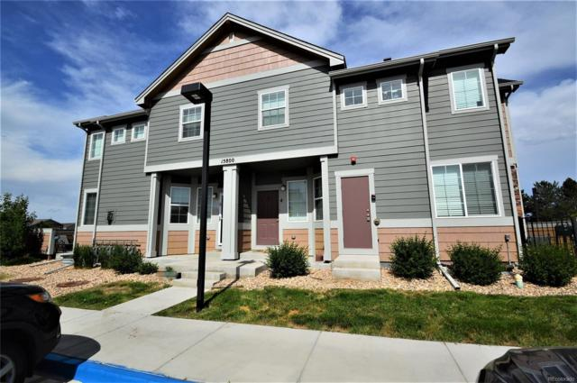 15800 E 121st Avenue N3, Commerce City, CO 80603 (#7782594) :: The HomeSmiths Team - Keller Williams