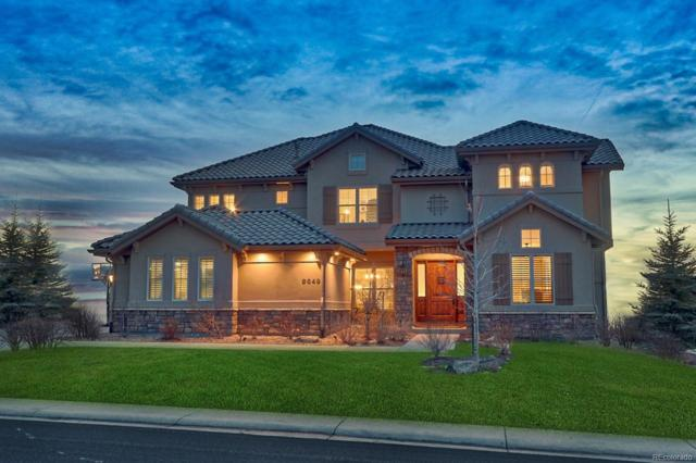 9649 S Shadow Hill Circle, Lone Tree, CO 80124 (#7784882) :: The Peak Properties Group