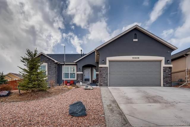 10506 Mt Emerald Drive, Peyton, CO 80831 (MLS #7785323) :: The Sam Biller Home Team