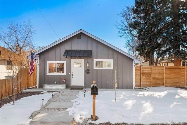 1428 Benton Street, Lakewood, CO 80214 (#7792671) :: The Dixon Group