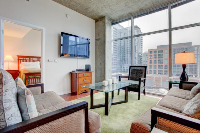 1700 Bassett Street #810, Denver, CO 80202 (#7793721) :: The City and Mountains Group