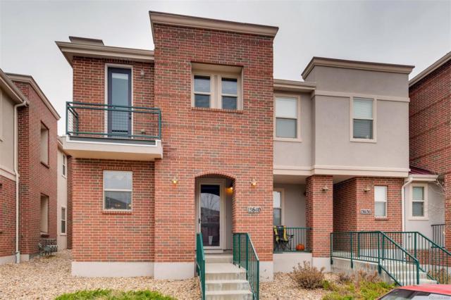 13640 E Weaver Place, Centennial, CO 80111 (#7796796) :: The Peak Properties Group