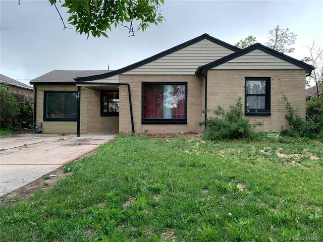 485 S Canosa Court, Denver, CO 80219 (#7798275) :: The HomeSmiths Team - Keller Williams