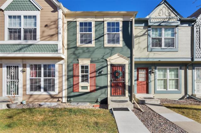 1699 S Trenton Street #10, Denver, CO 80231 (#7799540) :: Structure CO Group