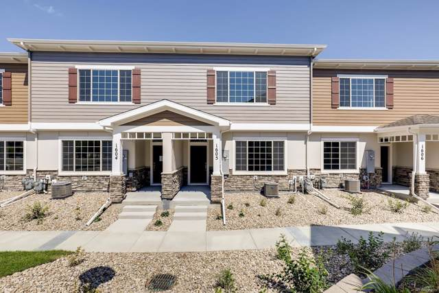 867 E 98th Avenue #1203, Thornton, CO 80229 (#7800773) :: The Heyl Group at Keller Williams