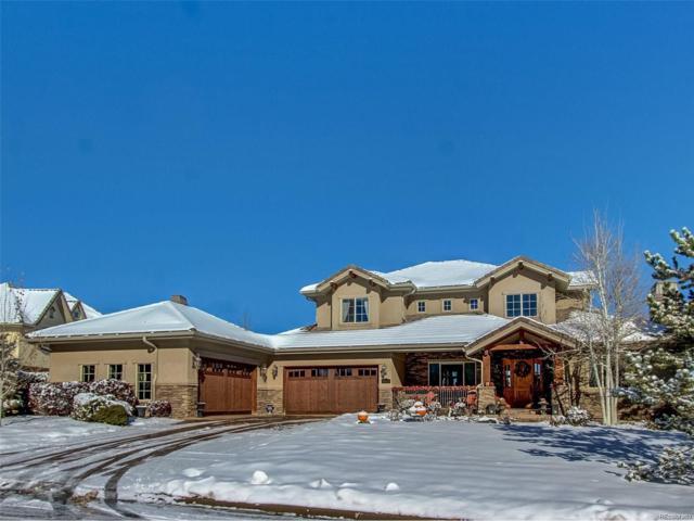 5829 Amber Ridge Drive, Castle Pines, CO 80108 (#7805312) :: The Peak Properties Group