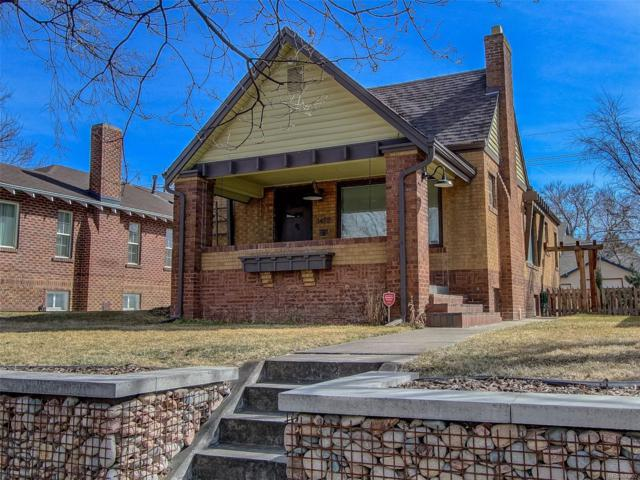 1452 S Vine Street, Denver, CO 80210 (#7808087) :: The Pete Cook Home Group