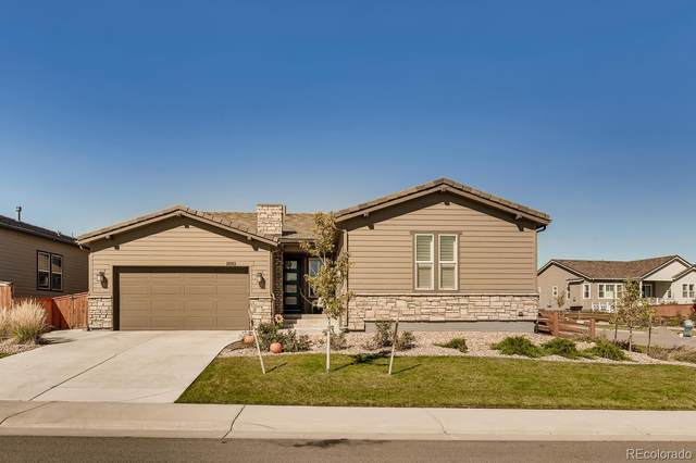 11263 Mission Walk Street, Parker, CO 80134 (#7809726) :: The Gilbert Group
