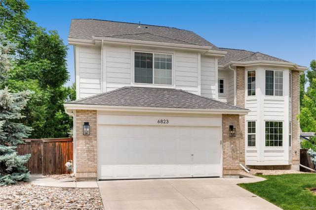 6823 Edgewood Place, Highlands Ranch, CO 80130 (#7809776) :: The Dixon Group