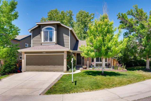 3187 Foxhill Place, Highlands Ranch, CO 80129 (#7810864) :: The HomeSmiths Team - Keller Williams