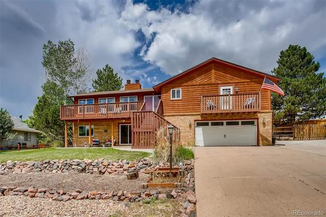 8539 Lightening View Drive, Parker, CO 80134 (#7811203) :: HomeSmart Realty Group