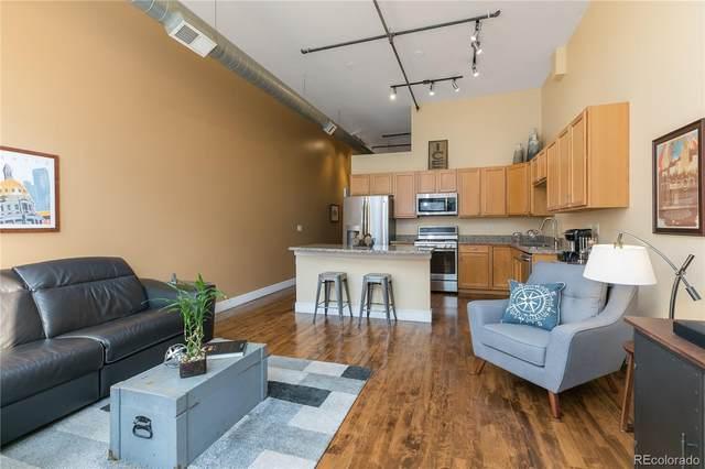 2441 N Broadway #204, Denver, CO 80205 (#7814484) :: Mile High Luxury Real Estate