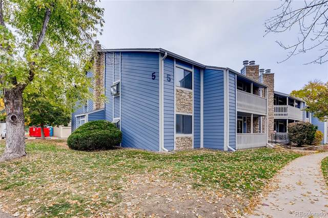 8335 Fairmount Drive 5-104, Denver, CO 80247 (MLS #7817573) :: Neuhaus Real Estate, Inc.