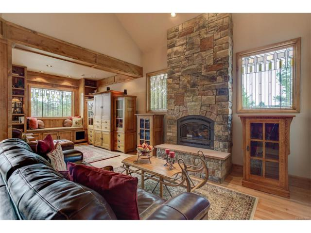 30005 Troutdale Ridge Road, Evergreen, CO 80439 (#7822939) :: The City and Mountains Group