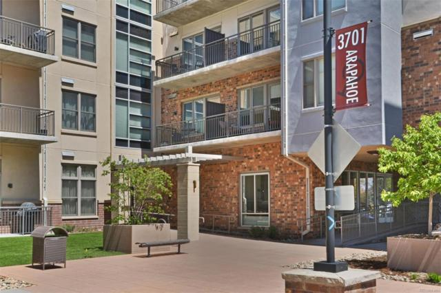 3701 Arapahoe Avenue #208, Boulder, CO 80303 (MLS #7823285) :: Keller Williams Realty