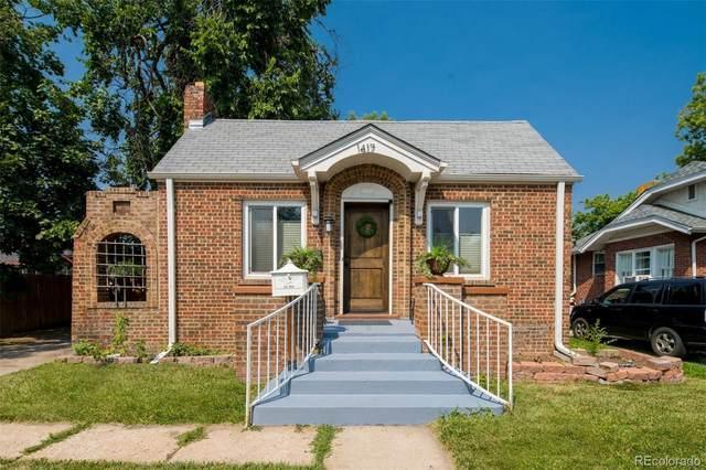 1417 Newport Street, Denver, CO 80220 (#7824446) :: The HomeSmiths Team - Keller Williams