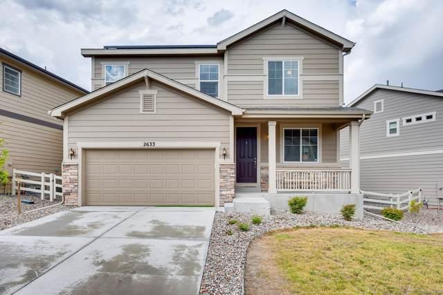 2633 Garganey Drive, Castle Rock, CO 80104 (MLS #7828303) :: 8z Real Estate
