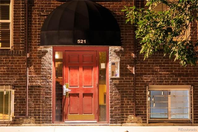 521 E 14th Avenue #19, Denver, CO 80203 (#7828512) :: Briggs American Properties