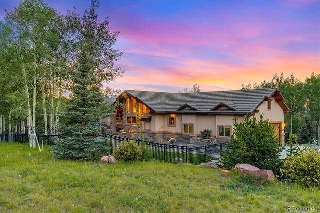 11750 Woodland Road, Woodland Park, CO 80863 (MLS #7831107) :: 8z Real Estate