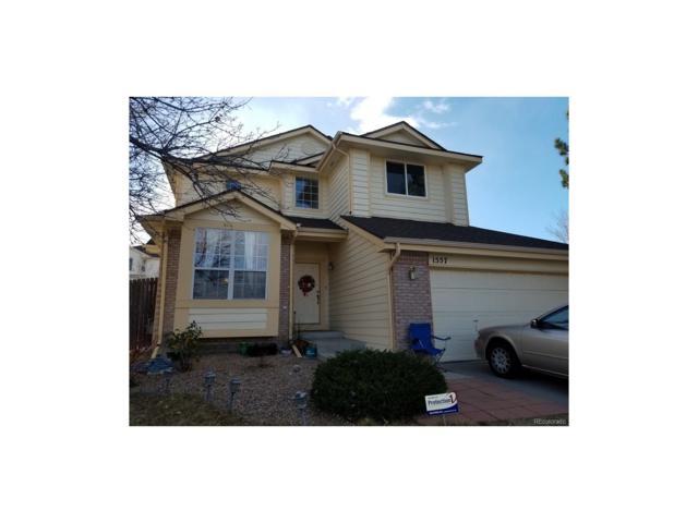 1557 S Pagosa Street, Aurora, CO 80017 (MLS #7831235) :: 8z Real Estate