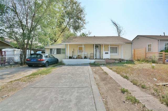 842 S Quitman Street, Denver, CO 80219 (#7835504) :: iHomes Colorado
