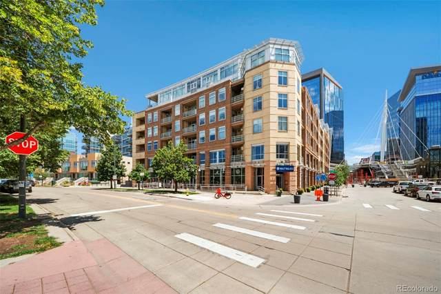 1610 Little Raven Street #301, Denver, CO 80202 (MLS #7835535) :: 8z Real Estate
