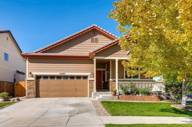 16283 E 98th Way, Commerce City, CO 80022 (#7837122) :: The Griffith Home Team