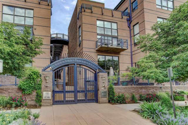 930 Acoma Street #301, Denver, CO 80204 (#7837587) :: The Healey Group