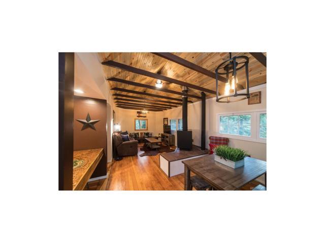 4925 Little Cub Creek Road, Evergreen, CO 80439 (MLS #7838486) :: 8z Real Estate