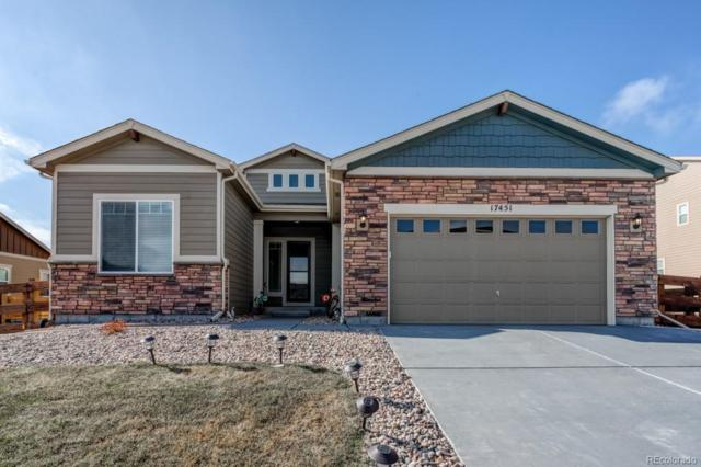 17451 Leisure Lake Drive, Monument, CO 80132 (#7843250) :: Keller Williams Action Realty LLC