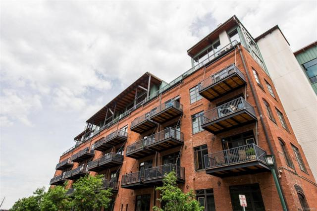2960 Inca Street #316, Denver, CO 80202 (#7844392) :: The DeGrood Team