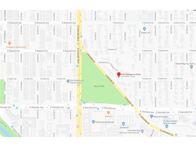4225 Shangri La Drive, Denver, CO 80246 (#7844760) :: Thrive Real Estate Group