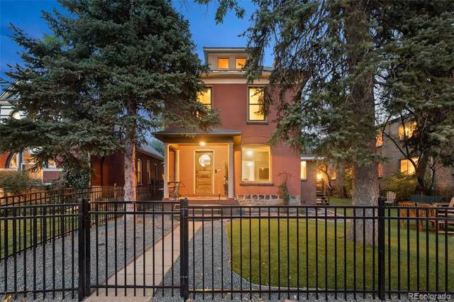 272 & 274 S Sherman Street, Denver, CO 80209 (#7855078) :: The Scott Futa Home Team