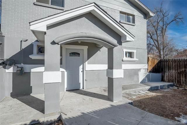 804 Xavier Street, Denver, CO 80204 (#7859433) :: Symbio Denver