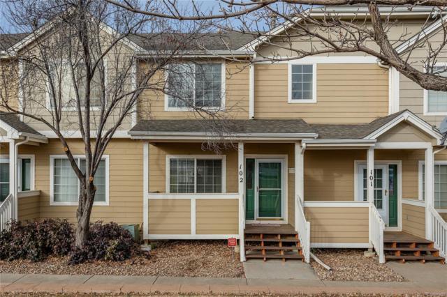 19283 E Idaho Drive #102, Aurora, CO 80017 (MLS #7860373) :: 8z Real Estate
