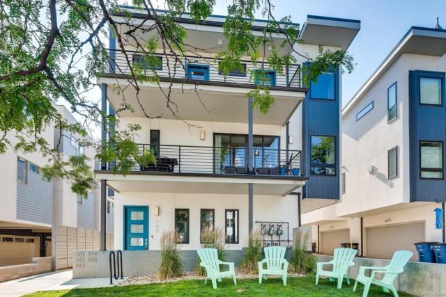 1821 Irving Street #100, Denver, CO 80204 (MLS #7863031) :: 8z Real Estate