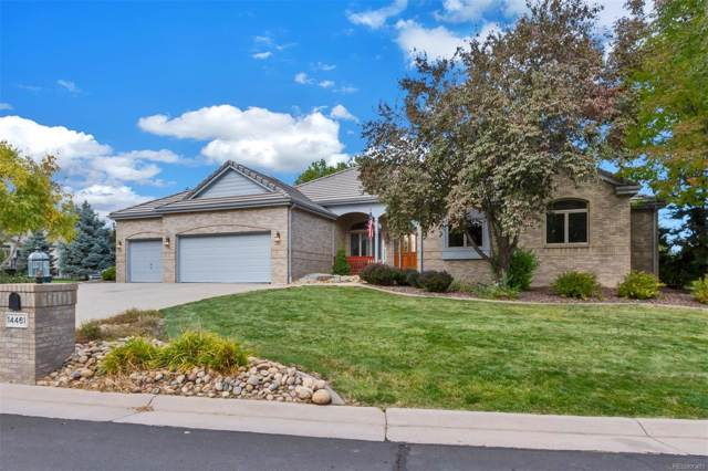 14461 W 56th Place, Arvada, CO 80002 (#7863047) :: The HomeSmiths Team - Keller Williams