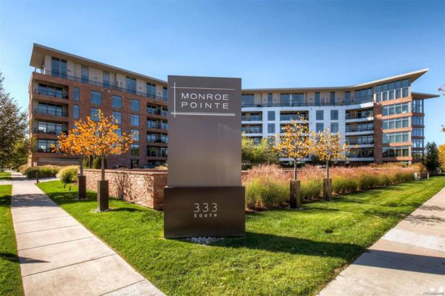 333 S Monroe Street #409, Denver, CO 80209 (#7866068) :: The Healey Group
